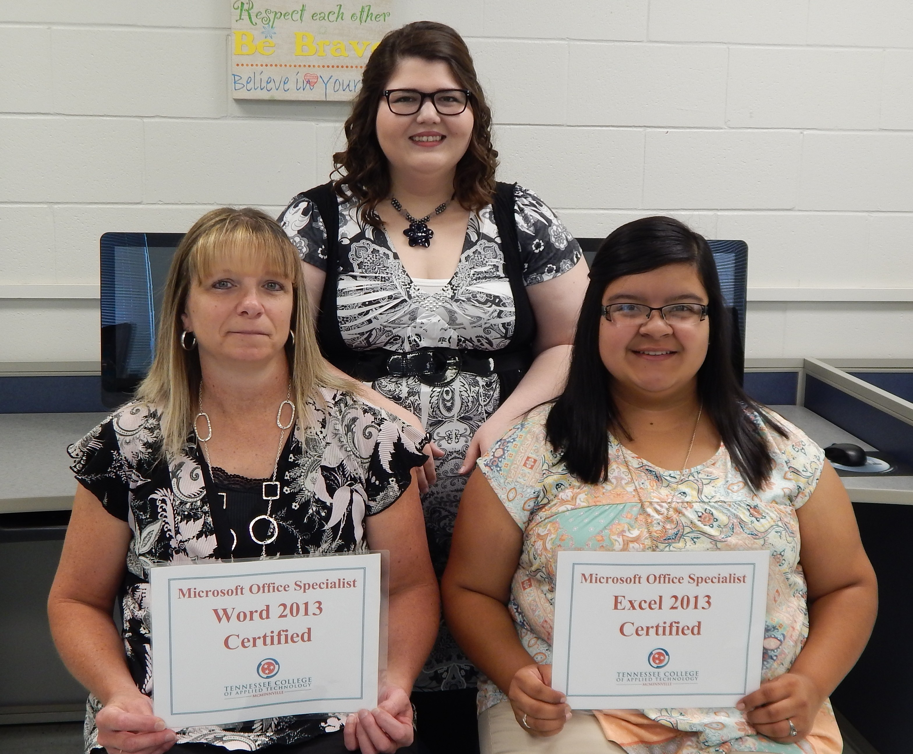Students Pass Microsoft Office Specialist Certifications Tcat